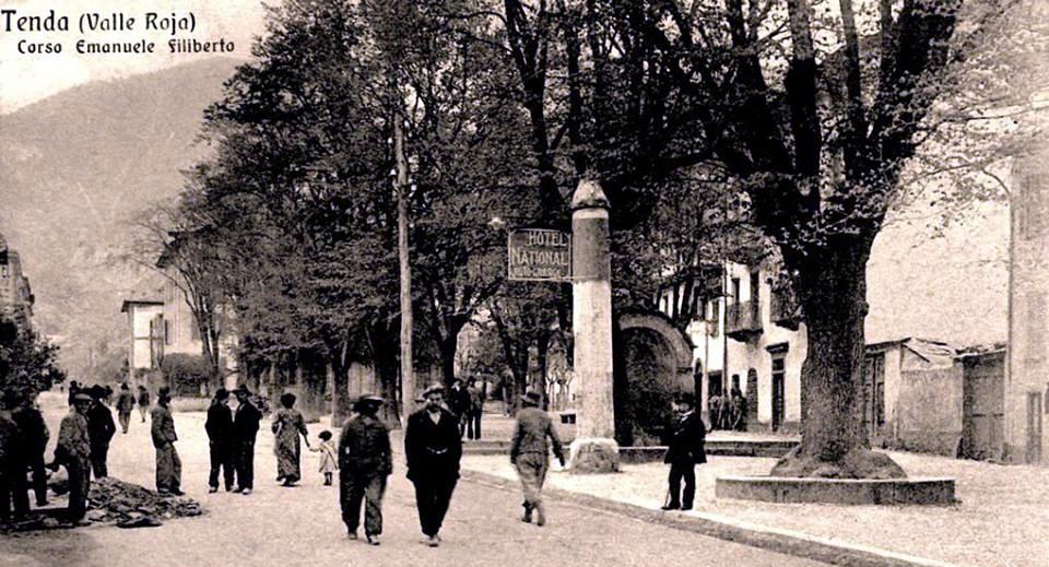 Corso Emanuele Filiberto en 1905