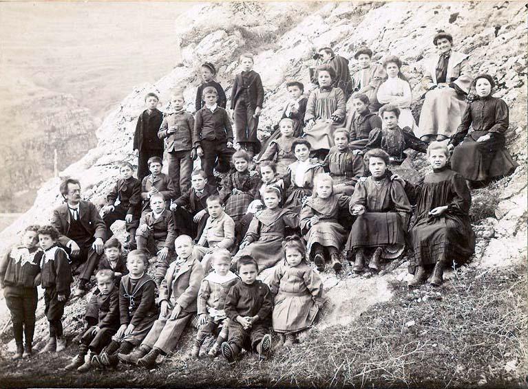 Année Scolaire 1900 à 1902 - Collection Bernard Woignier