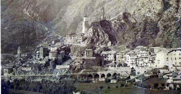 Tende vers 1889