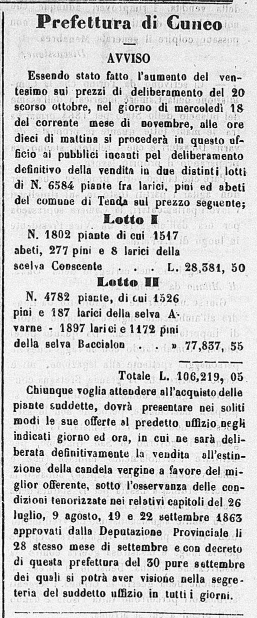 260 du 6 11 1863