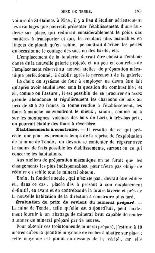 La mine de vallauria tende page 10