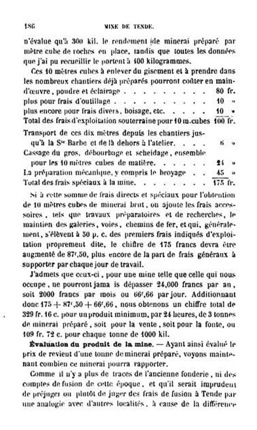 La mine de vallauria tende page 11