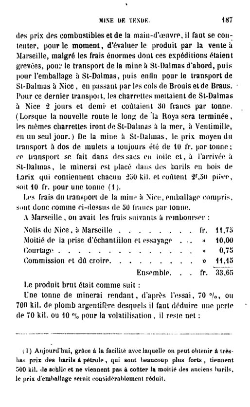 La mine de vallauria tende page 12