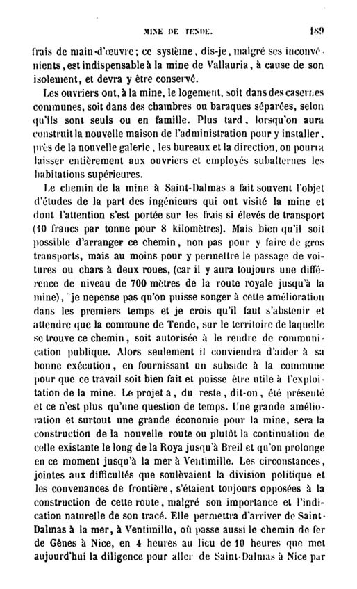 La mine de vallauria tende page 14