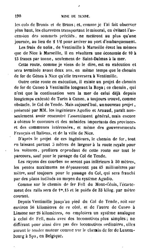 La mine de vallauria tende page 15