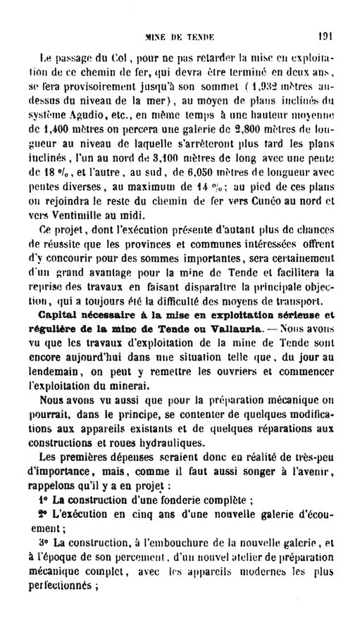 La mine de vallauria tende page 16
