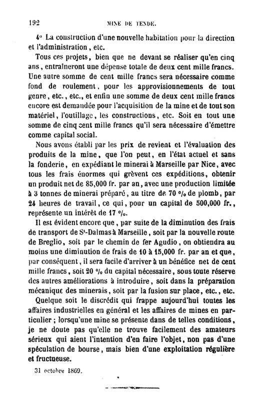 La mine de vallauria tende page 17