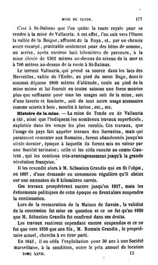 La mine de vallauria tende page 3